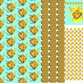 ROFL Waffle Apron Pattern- 1 yard