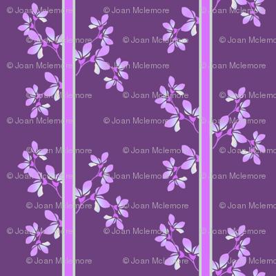 Bloom Stripe violet