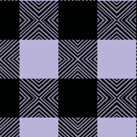 Purple X Plaid fabric by pond_ripple on Spoonflower - custom fabric