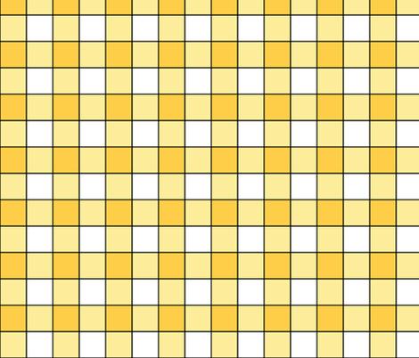 Sunny Plaid i fabric by pond_ripple on Spoonflower - custom fabric