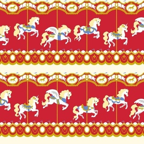 Carousel in Red