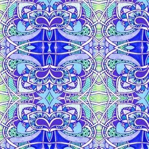 Soft Fade Blue