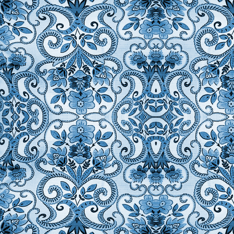 ornate fabric by nalo_hopkinson on Spoonflower - custom fabric