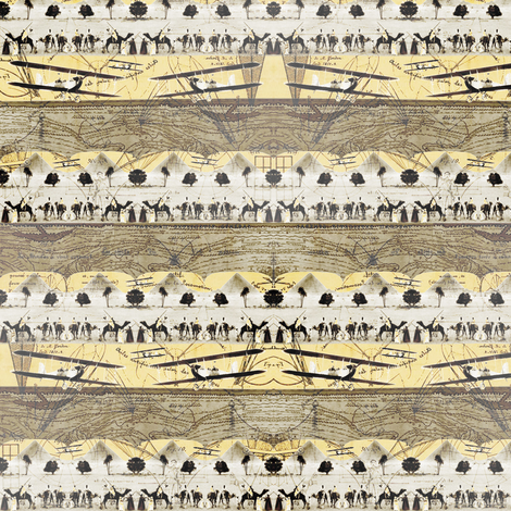 Flying Machines fabric by donna_kallner on Spoonflower - custom fabric