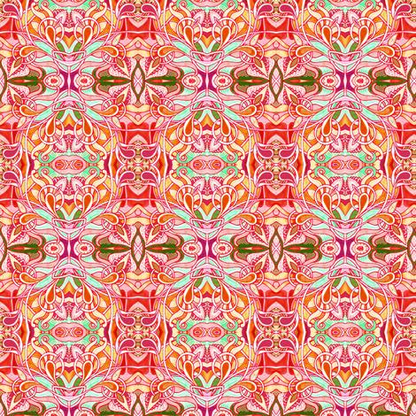 On the Beach (an SPF 50 abstract) fabric by edsel2084 on Spoonflower - custom fabric
