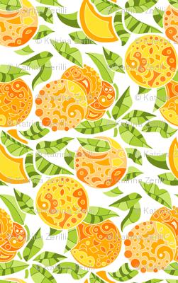 Doodly Oranges!