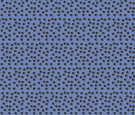 d20s_on_cobalt fabric by kortnee on Spoonflower - custom fabric
