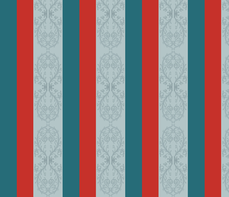 Autumn Fairy Stripes, Pillow Deco,  fabric by mariannemathiasen on Spoonflower - custom fabric