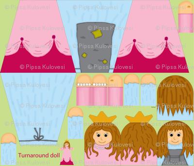 Turnaround doll