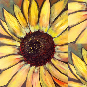 Painting of a Sunflower