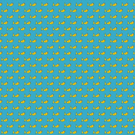 City Fishy fabric by missyq on Spoonflower - custom fabric