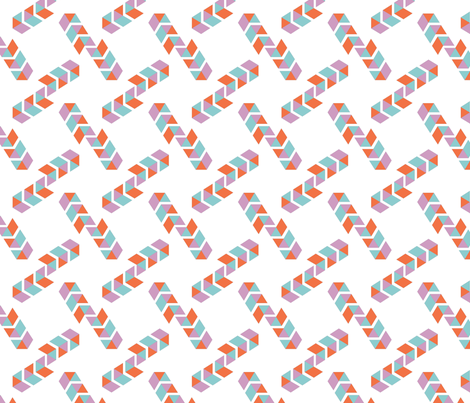 Chevron Pattern fabric by blueclouds on Spoonflower - custom fabric