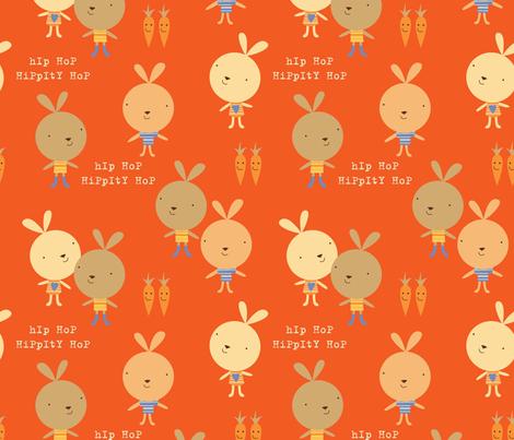 hippity hop fabric by amel24 on Spoonflower - custom fabric