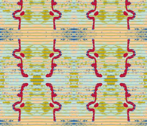 Sun Burn Leads to Peeling fabric by susaninparis on Spoonflower - custom fabric