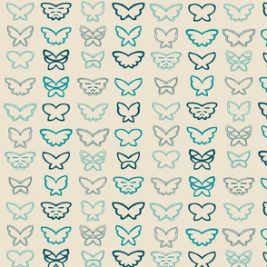 Tangled Butterflies I - Geometric