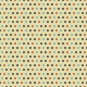 Coffee - Polka dots