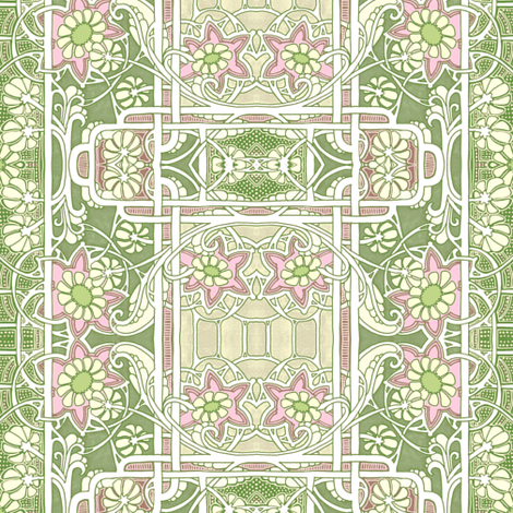 Pastel Spring fabric by edsel2084 on Spoonflower - custom fabric