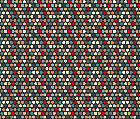 urban spot fabric by scrummy on Spoonflower - custom fabric