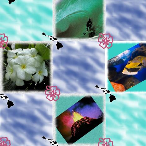 hawaii_photo_quilt fabric by kortnee on Spoonflower - custom fabric