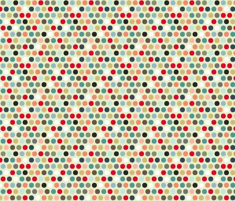urban spot cream fabric by scrummy on Spoonflower - custom fabric