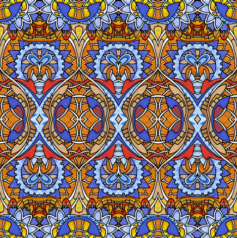 In the Great War fabric by edsel2084 on Spoonflower - custom fabric