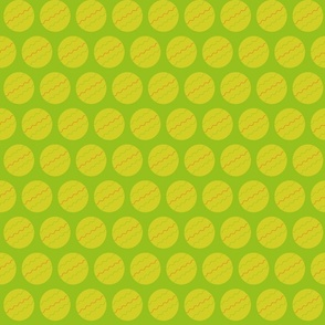 Green Mustard Dots