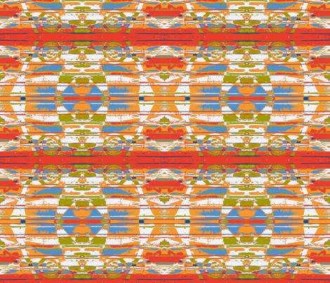 Mexican Serape Mash-up fabric by susaninparis on Spoonflower - custom fabric