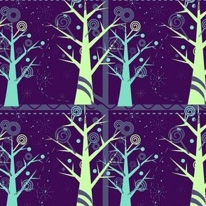 Midnight In Candy Forest