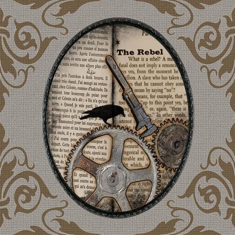 Rebel v02 fabric by novelatelier on Spoonflower - custom fabric