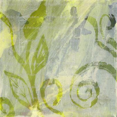 leaf swirls