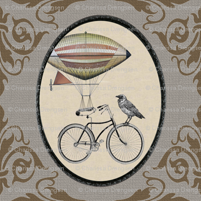 Dirigible Bicycle