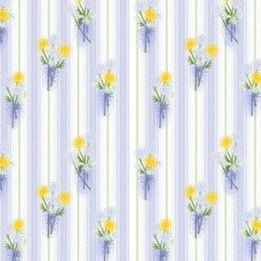 ©2011 Bouquet in Lemon and Blue
