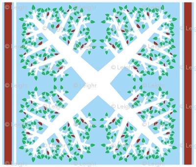 For the Birds (Hawaiian Quilt)