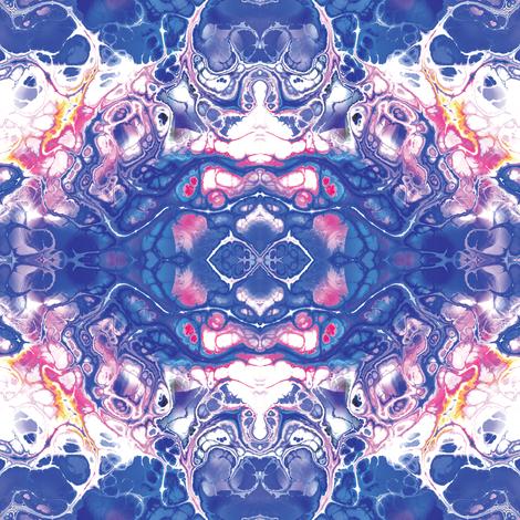Marine Fractal S fabric by animotaxis on Spoonflower - custom fabric