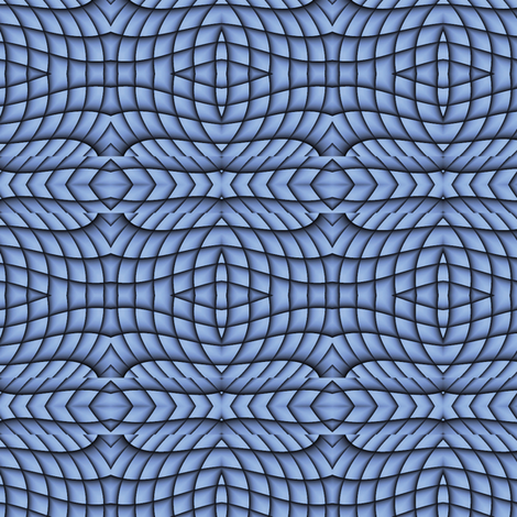 Blue Abstract 1 L fabric by animotaxis on Spoonflower - custom fabric