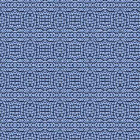 Blue Abstract 1 S fabric by animotaxis on Spoonflower - custom fabric