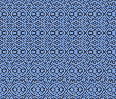 Blue Abstract 2 L fabric by animotaxis on Spoonflower - custom fabric