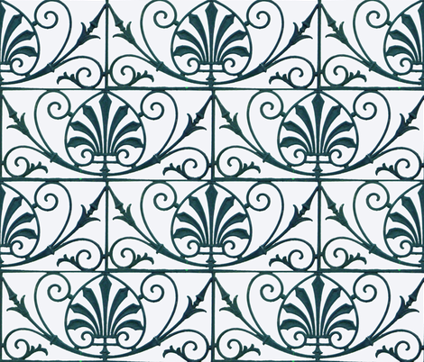 French Grill 2 fabric by susaninparis on Spoonflower - custom fabric
