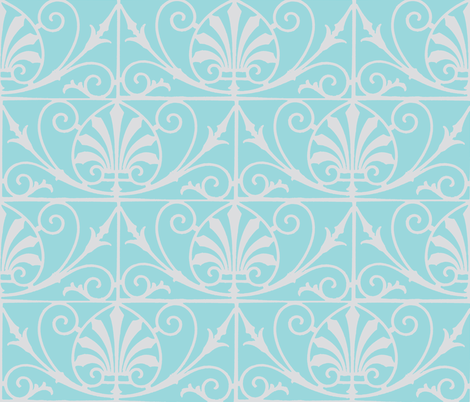 French Grill 3 - Keep Cool! fabric by susaninparis on Spoonflower - custom fabric