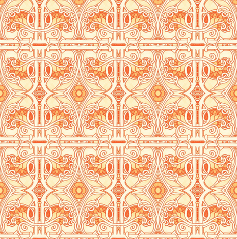 Make Mine Medieval fabric by edsel2084 on Spoonflower - custom fabric