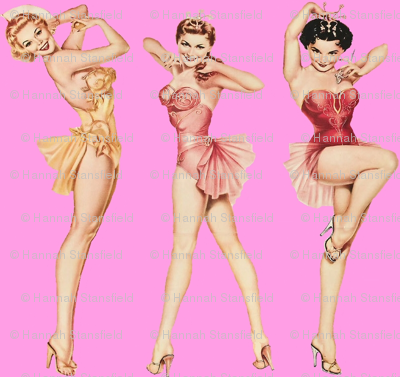 Pin up in pink