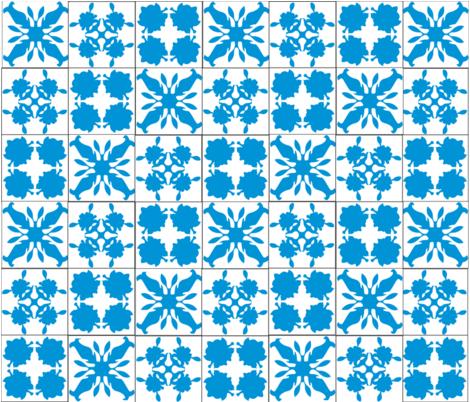 Hawaiian Cheater Quilt fabric by brandymiller on Spoonflower - custom fabric
