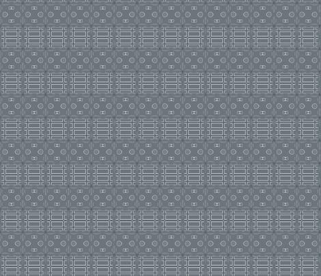 Paddock Fence © Gingezel™ Inc. 2011 fabric by gingezel on Spoonflower - custom fabric