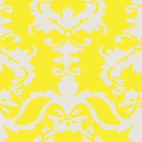 PATIO DAMASK yellow