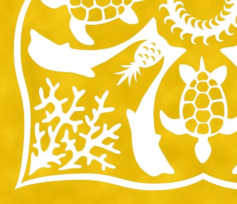 Sunny Hawaii fabric by pattysloniger on Spoonflower - custom fabric
