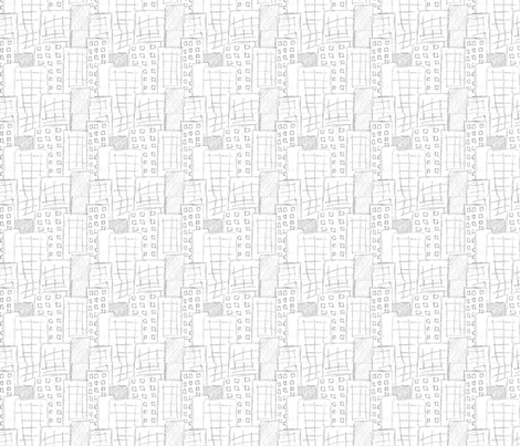 Cityscape fabric by fabricbycatherine on Spoonflower - custom fabric