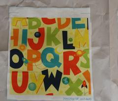 Space Alphabet Letters