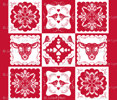 Christmas Time Cheaters Quilt