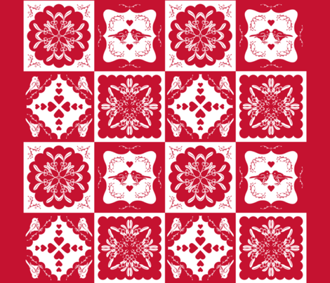 Christmas Time Small fabric by cjldesigns on Spoonflower - custom fabric