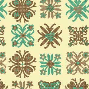 Hawaiin quilt